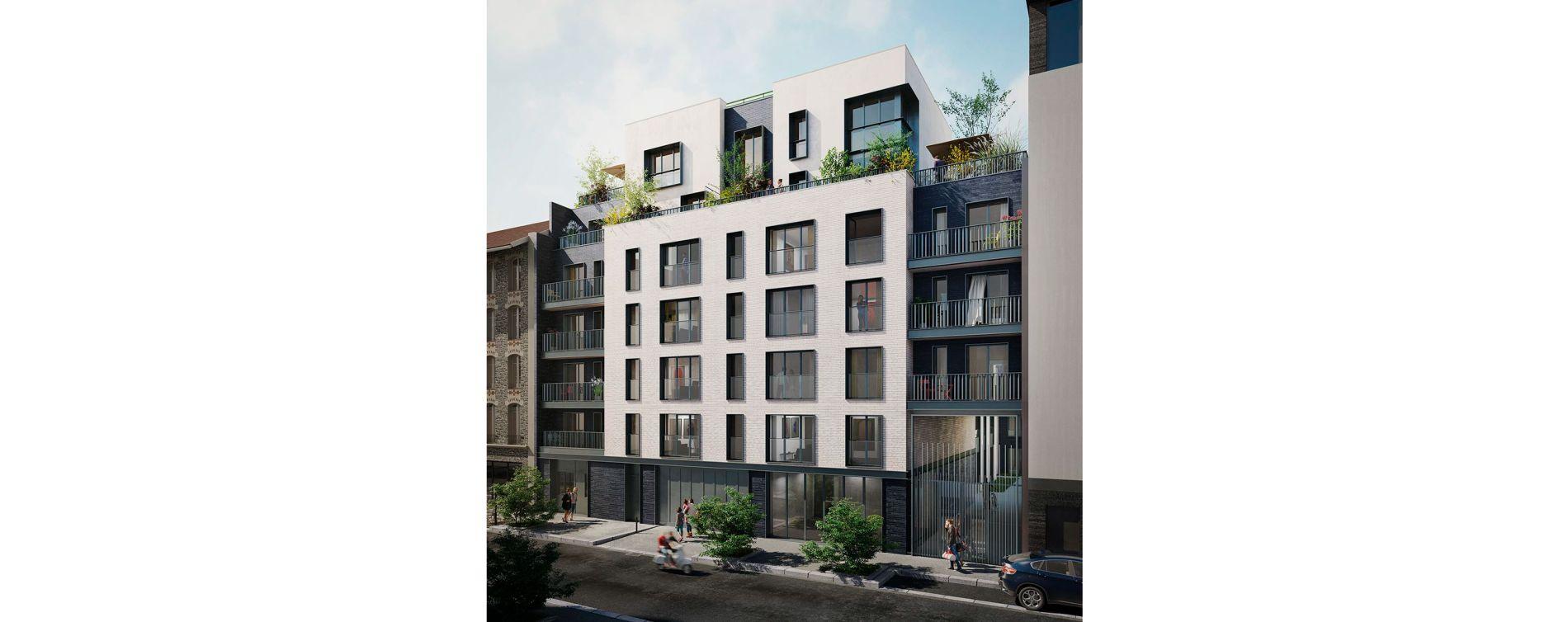 Boulogne-Billancourt : programme immobilier neuve « 128' Aguesseau » (3)