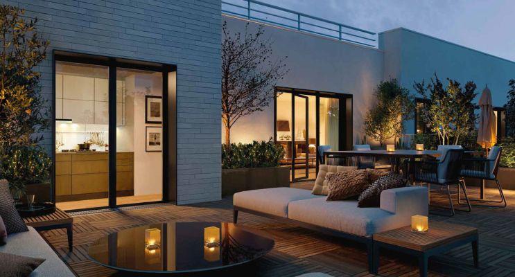Photo du Résidence « 128' Aguesseau » programme immobilier neuf en Loi Pinel à Boulogne-Billancourt