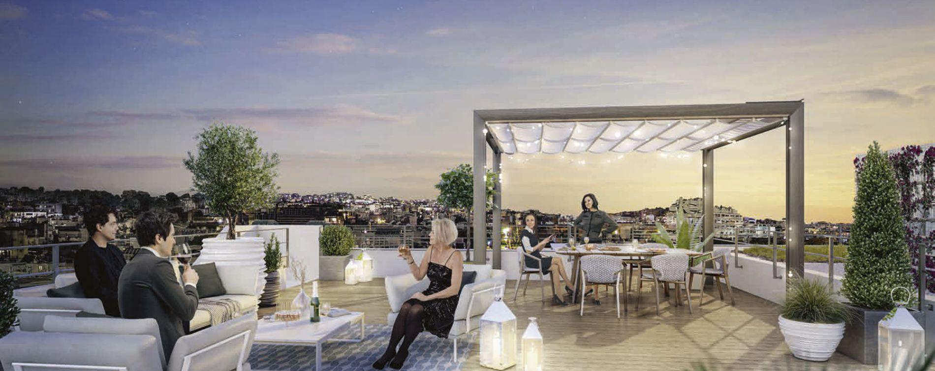 Boulogne-Billancourt : programme immobilier neuve « L'Exception » en Loi Pinel