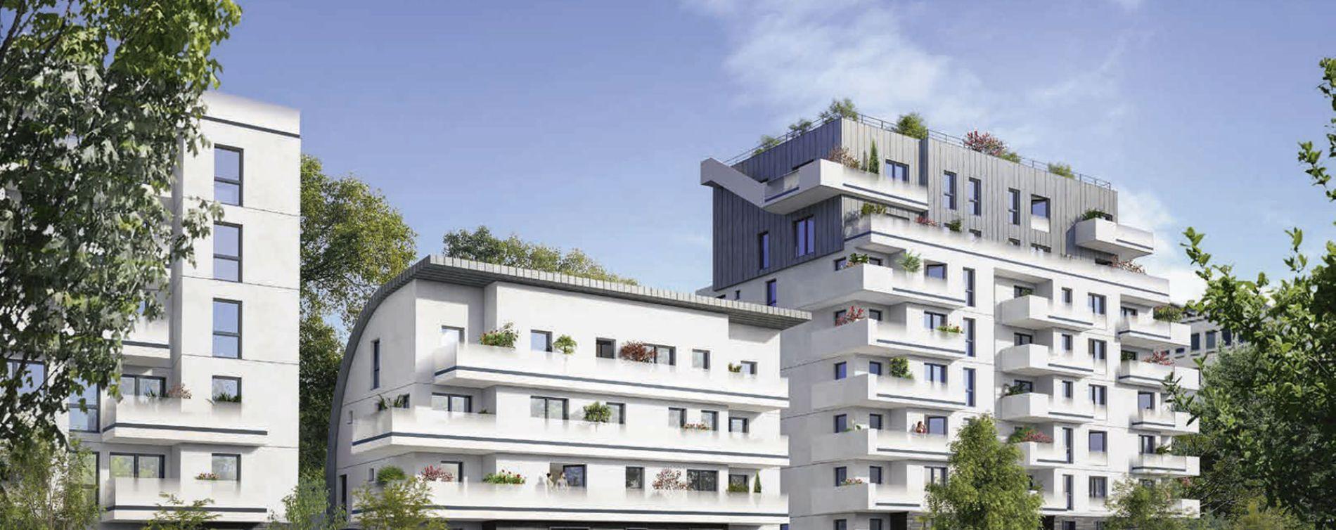 Boulogne-Billancourt : programme immobilier neuve « L'Exception » en Loi Pinel (2)