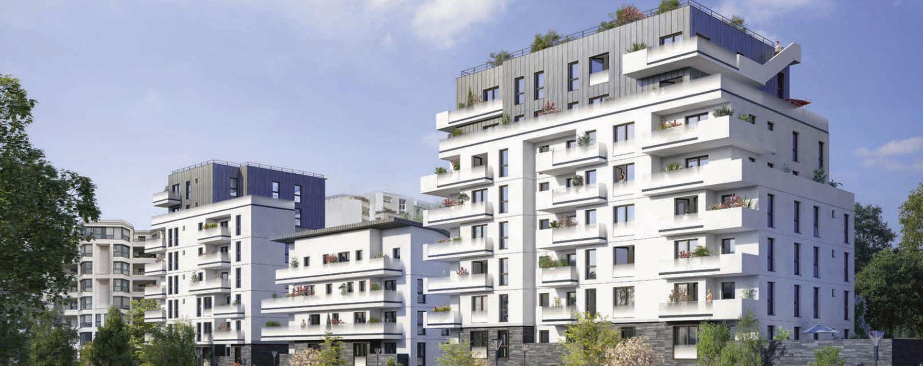 Boulogne-Billancourt : programme immobilier neuve « L'Exception » en Loi Pinel (3)