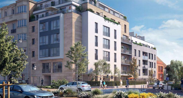 Bourg-la-Reine : programme immobilier neuf « Influence » en Loi Pinel