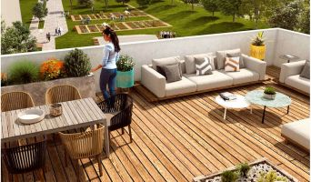 Résidence « Botanik » programme immobilier neuf en Loi Pinel à Châtenay-Malabry n°4