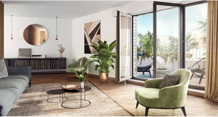 Photo n°2 du Résidence « Côté Jardin - Lavallée » programme immobilier neuf en Loi Pinel à Châtenay-Malabry