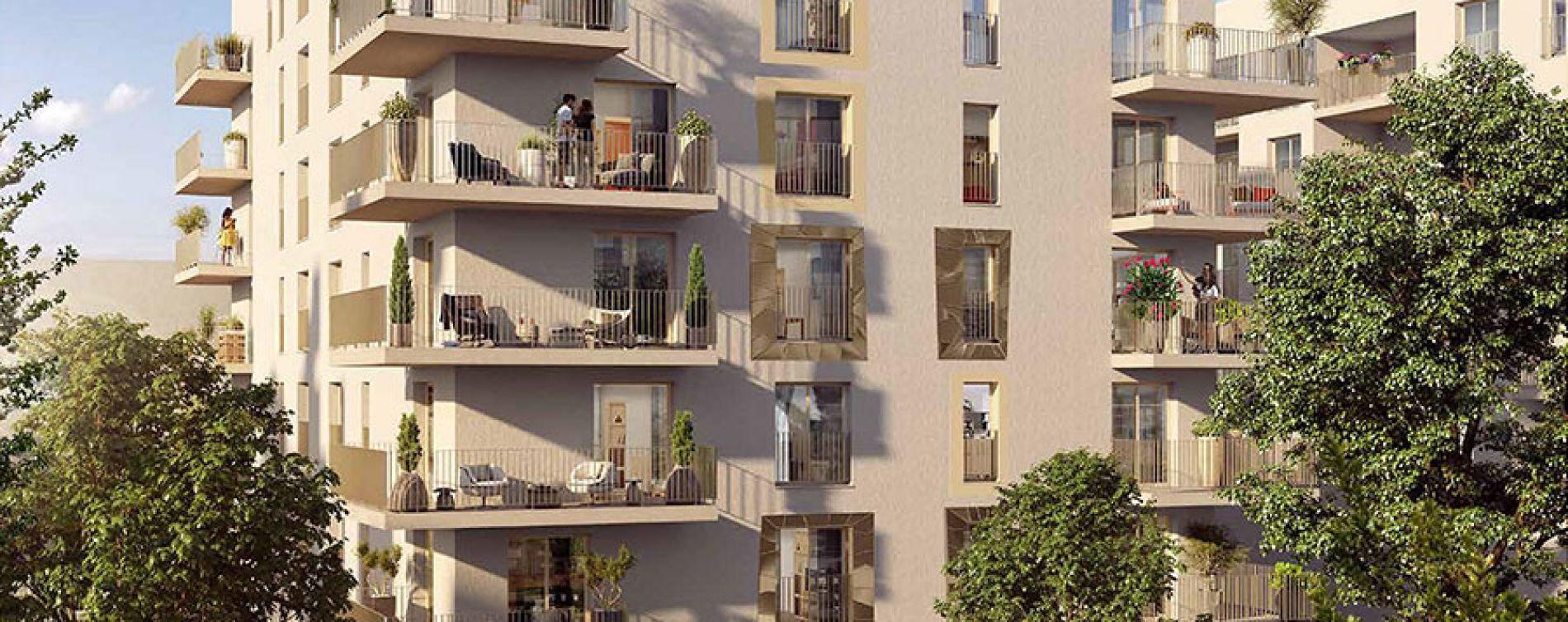 Châtenay-Malabry : programme immobilier neuve « Côté Jardin » en Loi Pinel