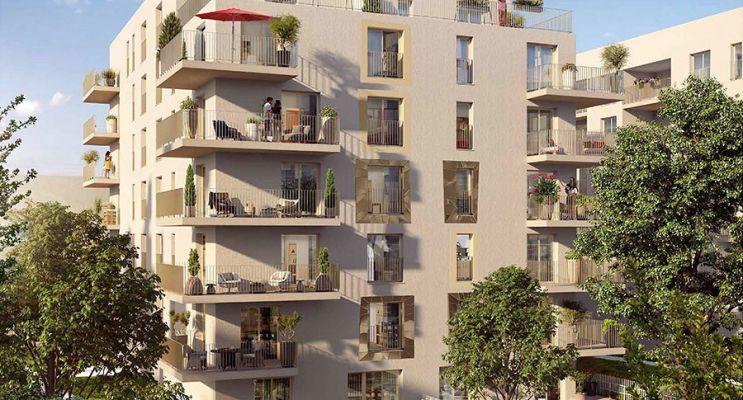 Châtenay-Malabry programme immobilier neuf « Côté Jardin » en Loi Pinel