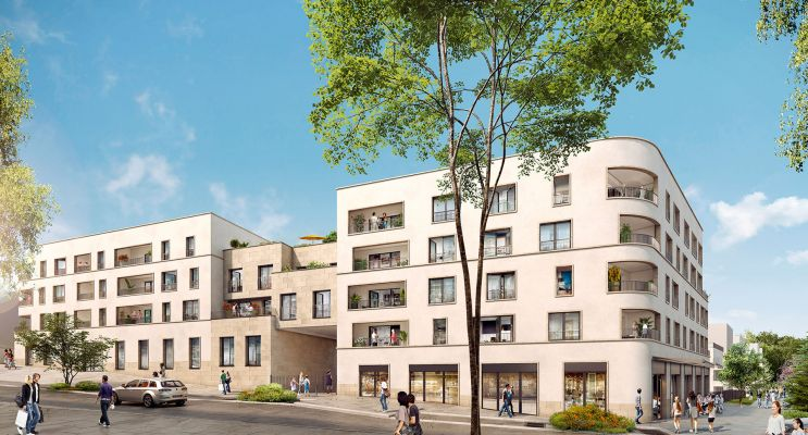 Photo du Résidence « Épure » programme immobilier neuf en Loi Pinel à Châtenay-Malabry