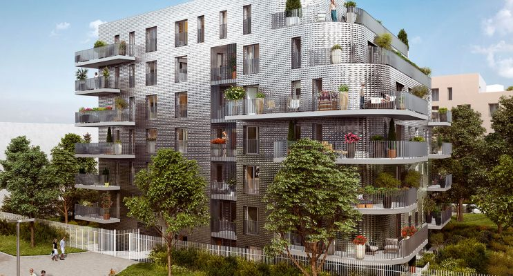 Châtenay-Malabry programme immobilier neuf « Prisme » en Loi Pinel