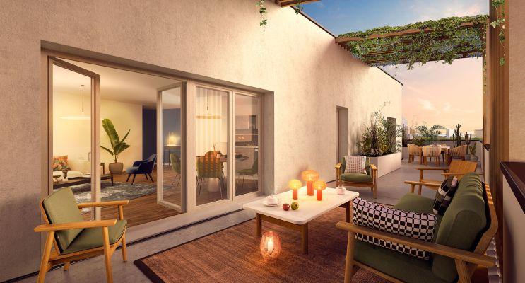 Résidence « Spot » programme immobilier neuf en Loi Pinel à Châtenay-Malabry n°3