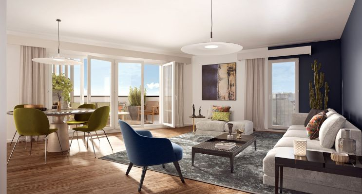 Résidence « Spot » programme immobilier neuf en Loi Pinel à Châtenay-Malabry n°4