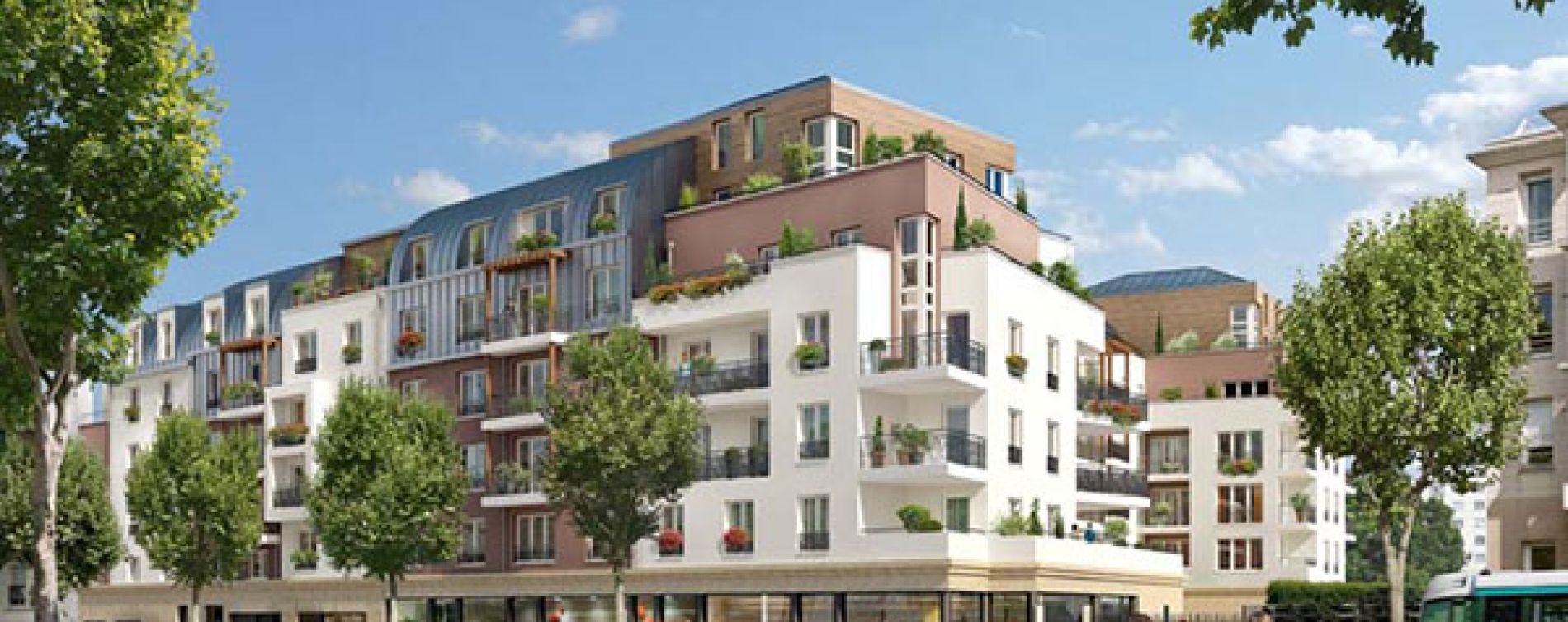 Châtillon : programme immobilier neuve « Premières Loges »