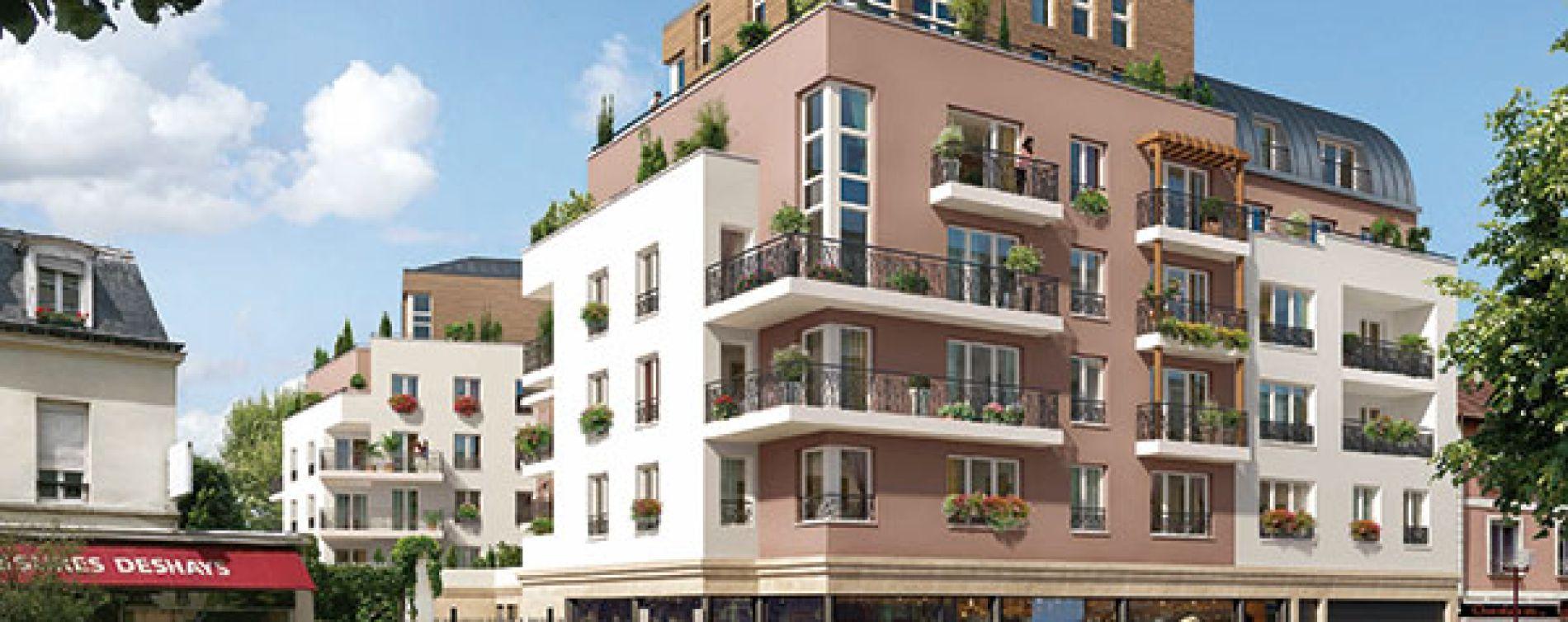 Châtillon : programme immobilier neuve « Premières Loges » (2)