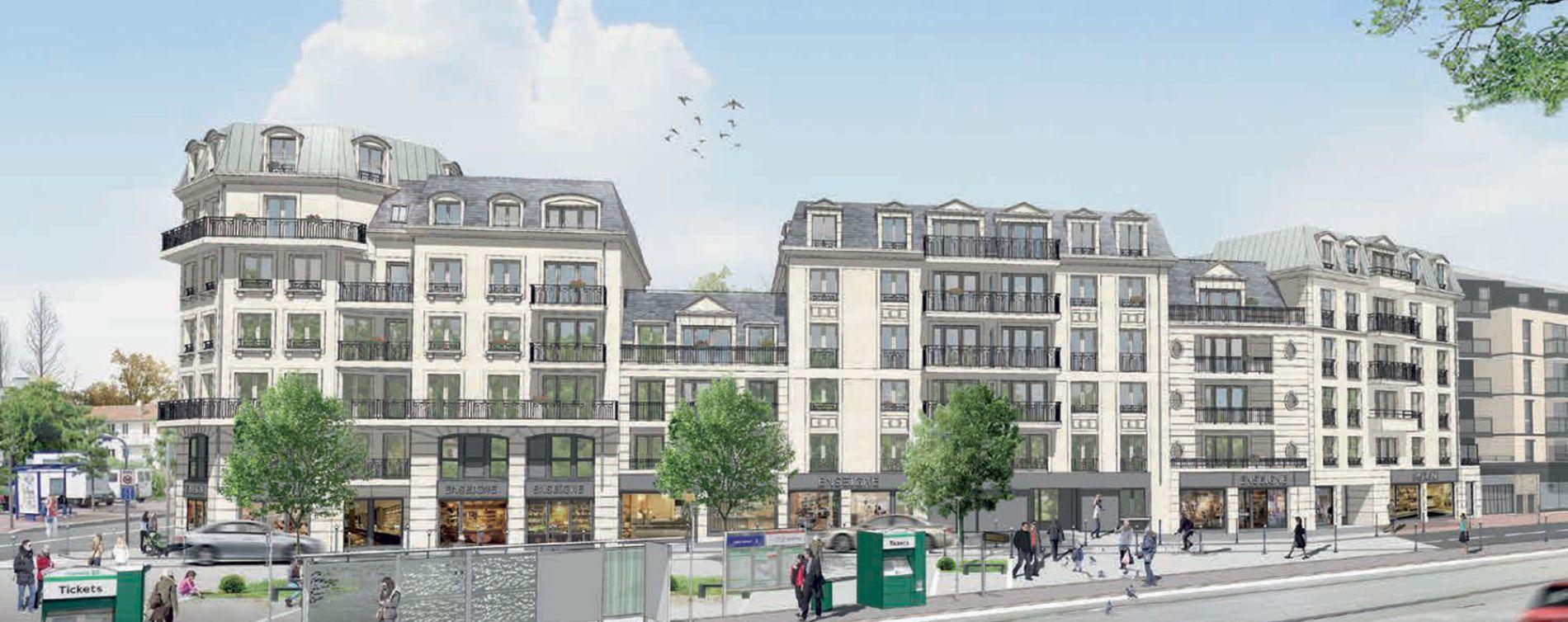 Clamart : programme immobilier neuve « Carré Parisien »