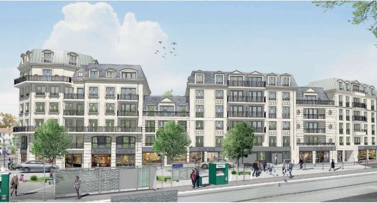 Résidence « Carré Parisien » programme immobilier neuf en Loi Pinel à Clamart