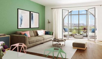 Résidence « Esprit Nature - Panorama » programme immobilier neuf en Loi Pinel à Clamart n°5