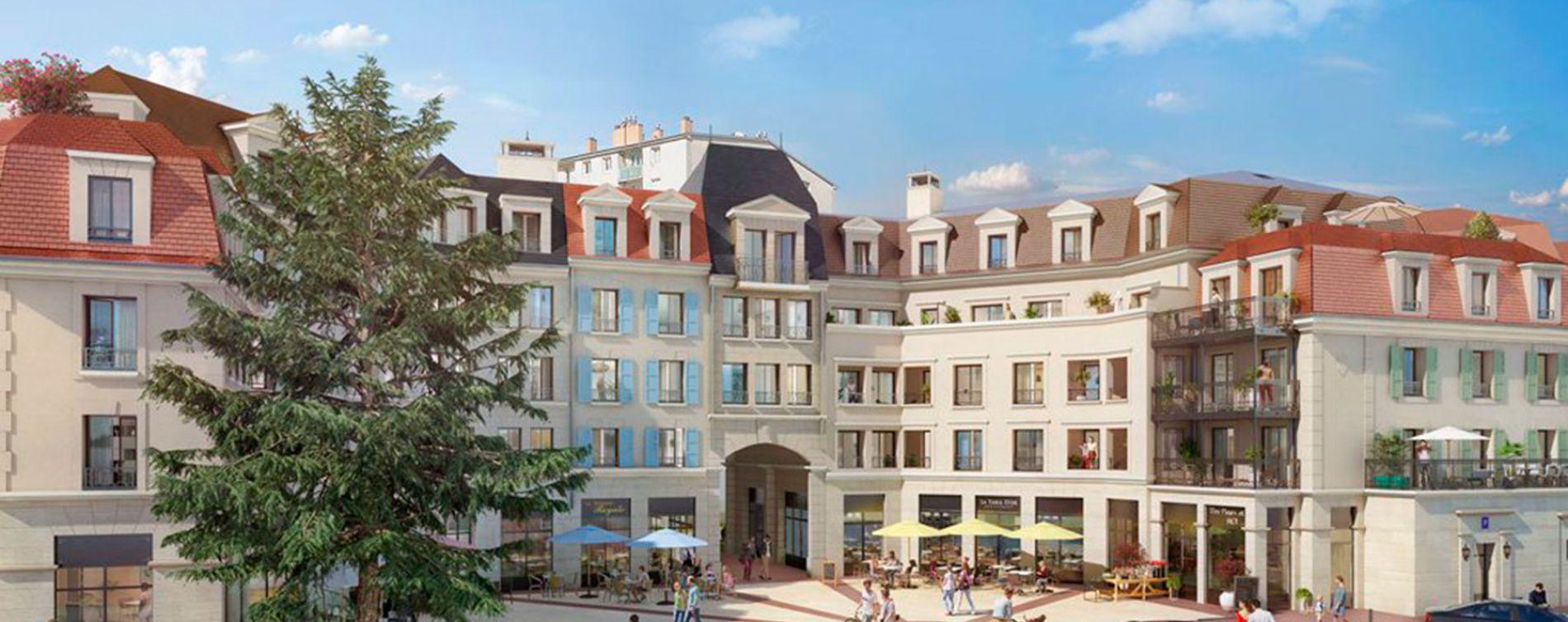 Clamart : programme immobilier neuve « Jardins Mansart »