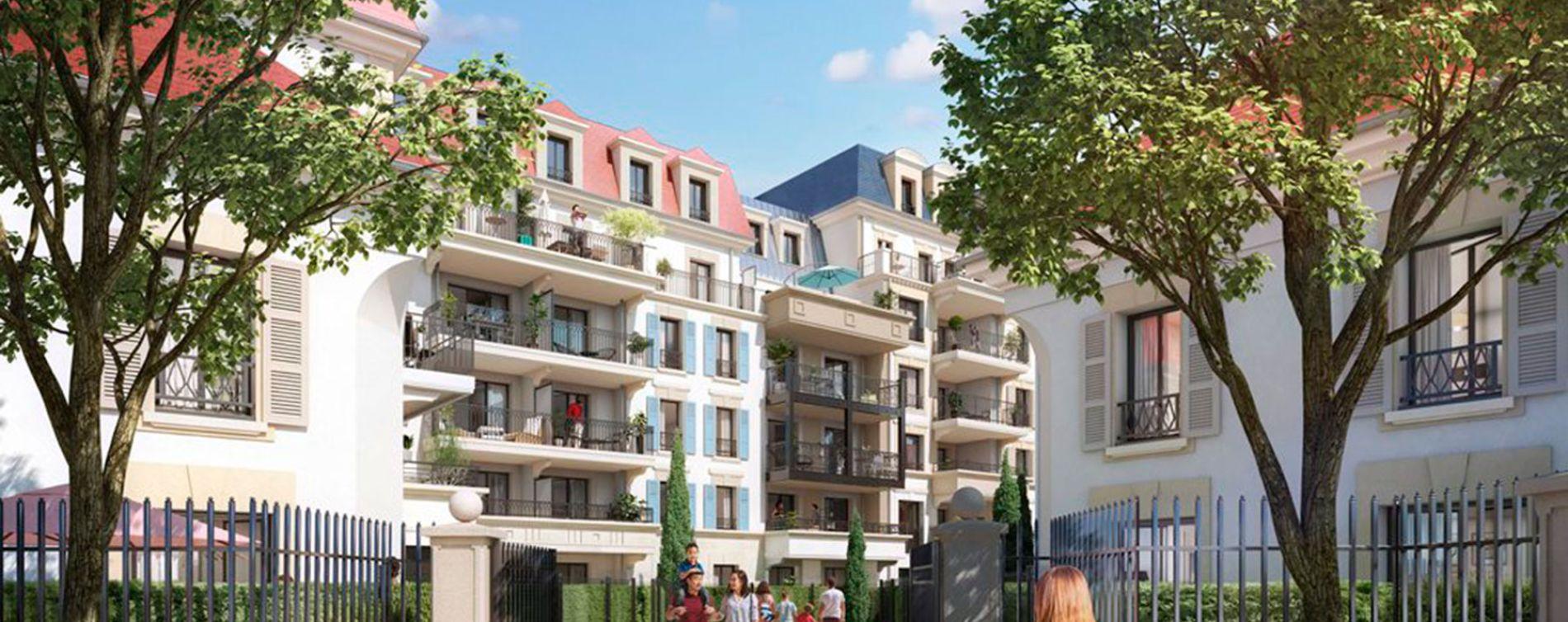 Clamart : programme immobilier neuve « Jardins Mansart » (2)