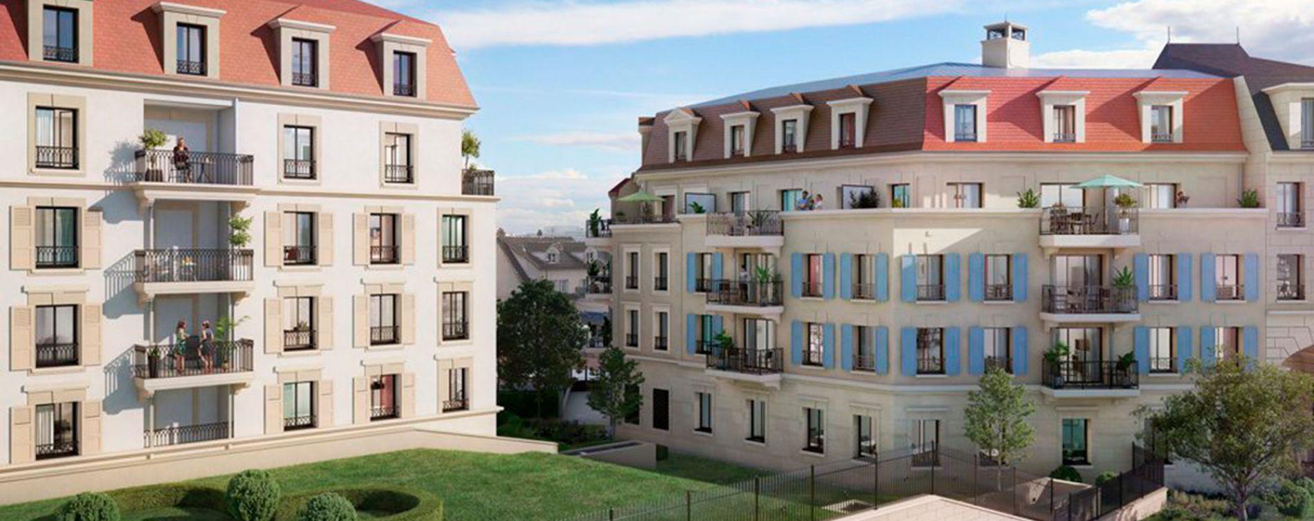 Clamart : programme immobilier neuve « Jardins Mansart » (3)