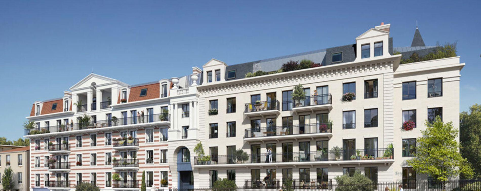 Clamart : programme immobilier neuve « Programme immobilier n°217814 » en Loi Pinel