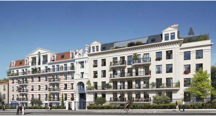 Clamart programme immobilier neuf « Le Clos Montholon