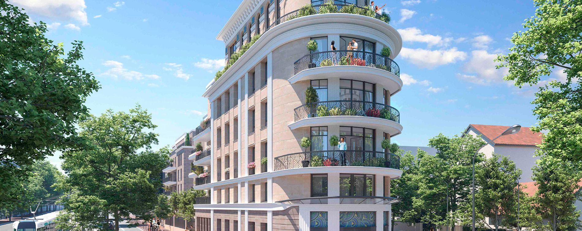 Clamart : programme immobilier neuve « Le Majestic » en Loi Pinel
