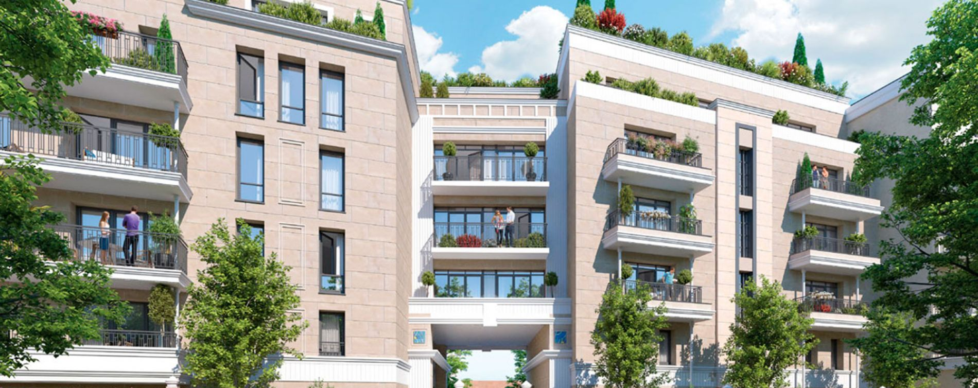 Clamart : programme immobilier neuve « Le Majestic » en Loi Pinel (3)