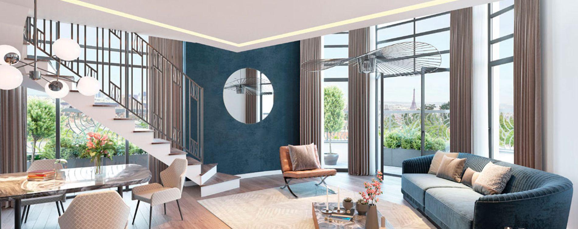 Clamart : programme immobilier neuve « Le Majestic » en Loi Pinel (4)