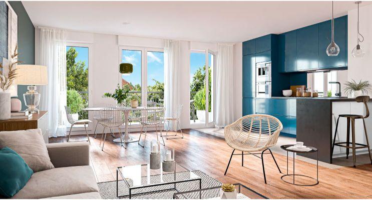 Photo du Résidence « L'Ecrin du Bois » programme immobilier neuf en Loi Pinel à Clamart