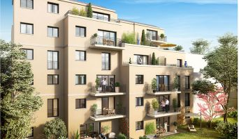 Photo n°2 du Résidence « Les Balcons De Clamart » programme immobilier neuf en Loi Pinel à Clamart