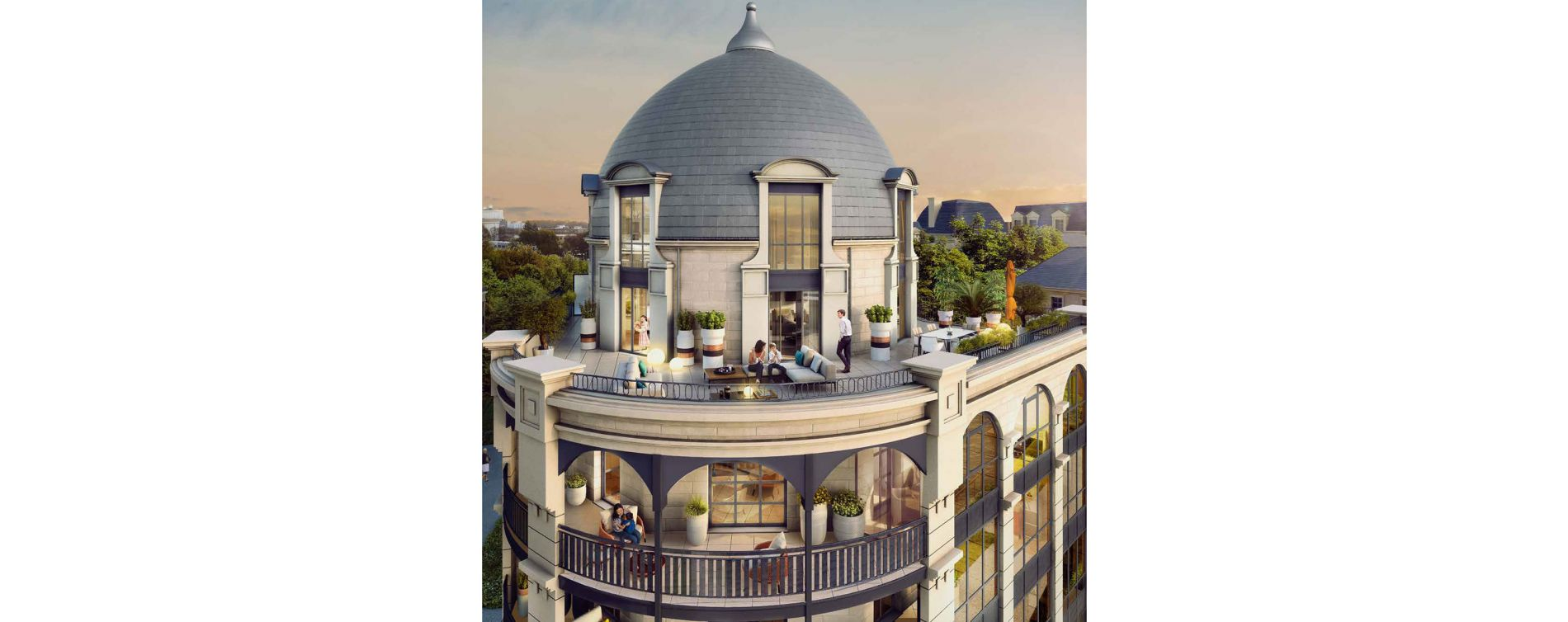 Clamart : programme immobilier neuve « Les Reflets du Lac » (3)