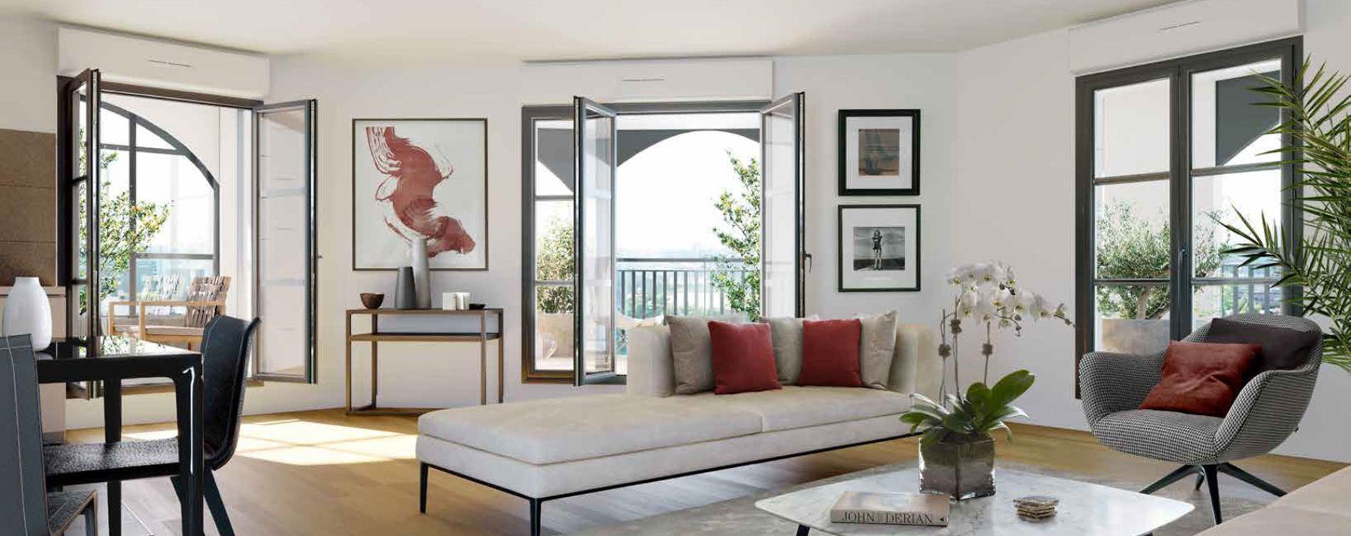 Clamart : programme immobilier neuve « Les Reflets du Lac » (4)