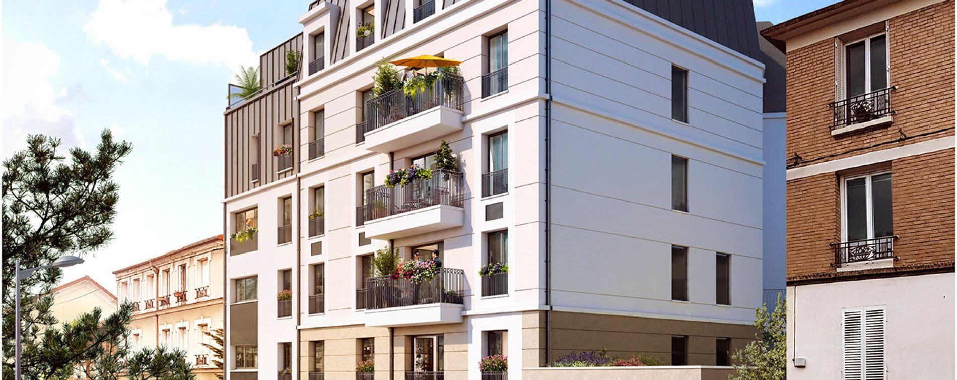 Clamart : programme immobilier neuve « L'Intimiste »