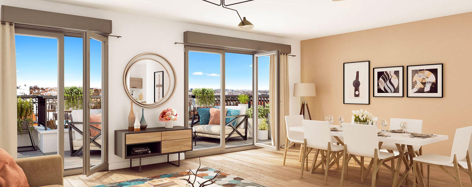 Clamart : programme immobilier neuve « L'Intimiste » (3)