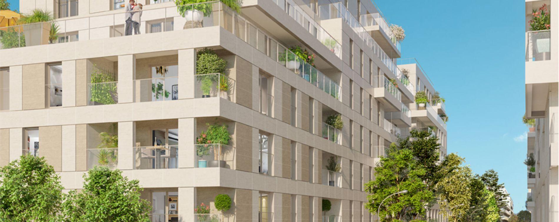 Clichy : programme immobilier neuve « Atrium City 2 » en Loi Pinel