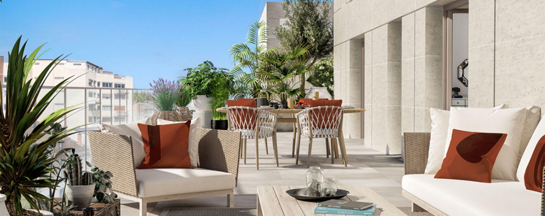 Clichy : programme immobilier neuve « Atrium City 2 » en Loi Pinel (2)