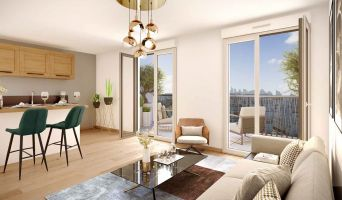 Clichy programme immobilier neuve « Atrium Seine » en Loi Pinel  (3)