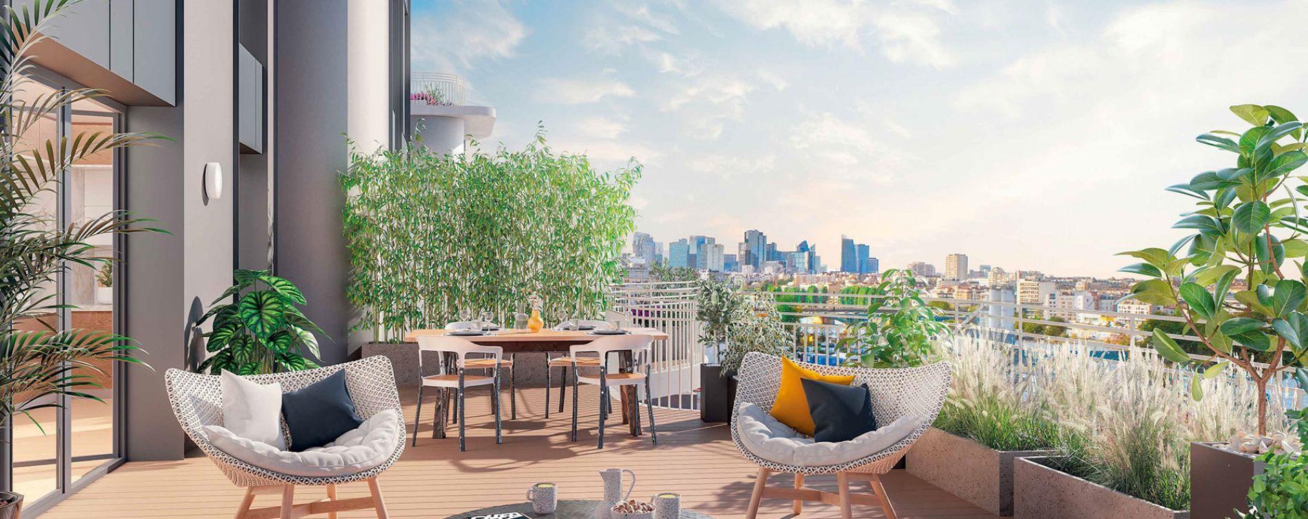Clichy : programme immobilier neuve « Boréales »