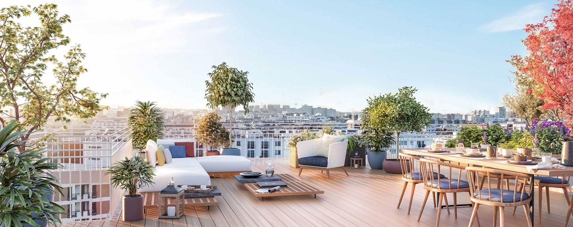 Clichy : programme immobilier neuve « Boréales » (2)