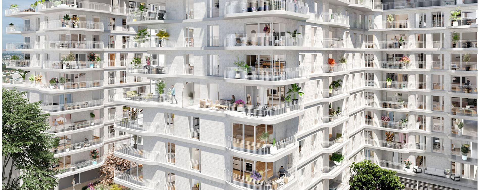 Clichy : programme immobilier neuve « Boréales » (3)