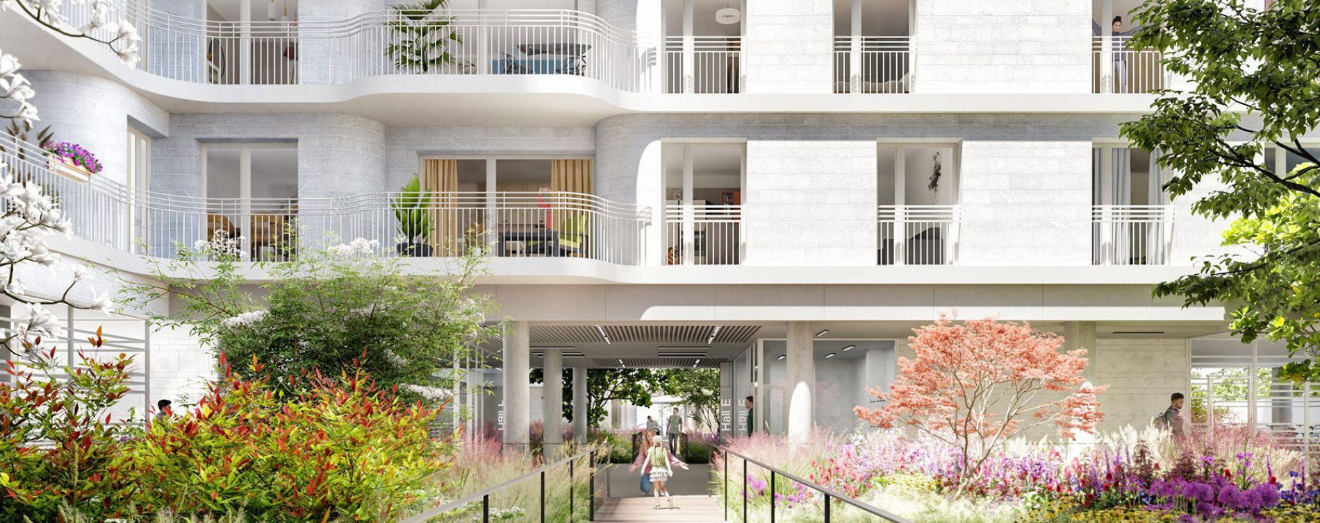 Clichy : programme immobilier neuve « Boréales » (4)