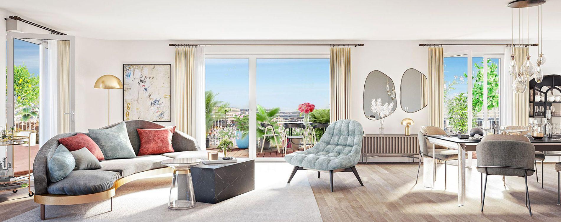 Clichy : programme immobilier neuve « Boréales » (5)