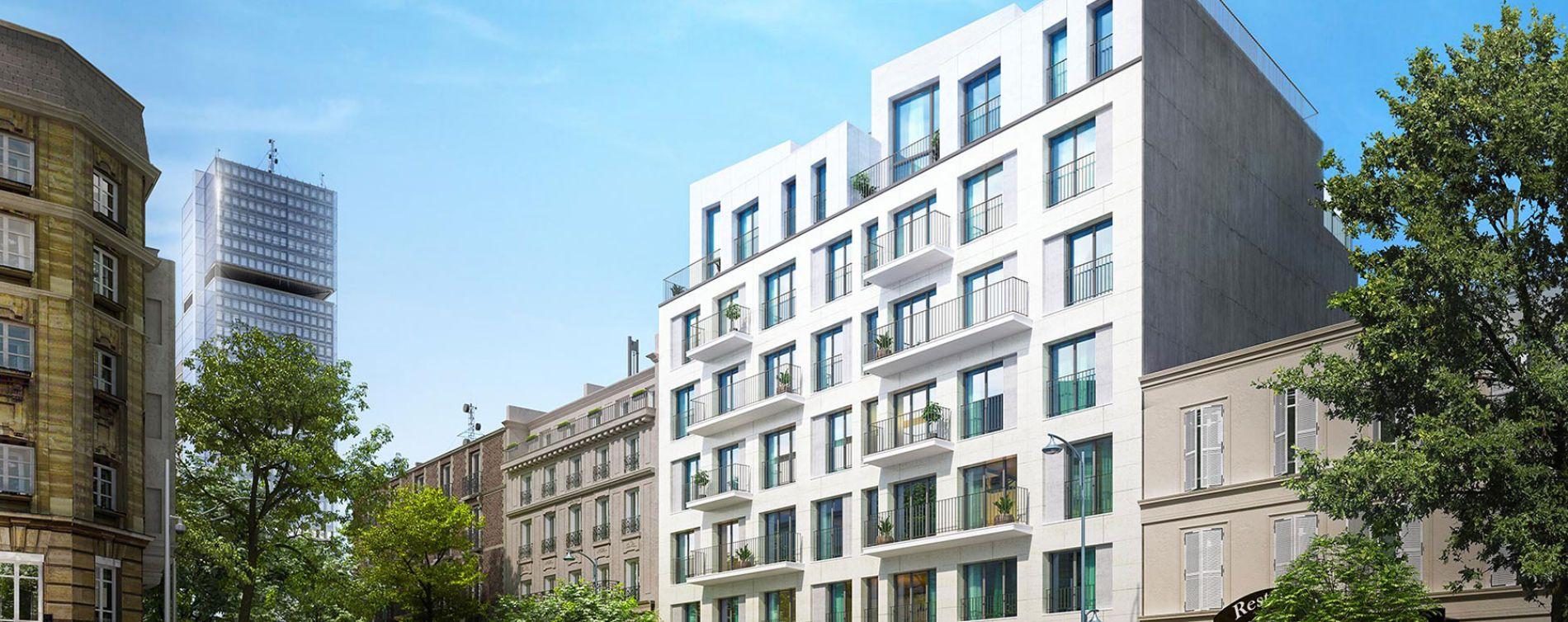Clichy : programme immobilier neuve « Broadway » en Loi Pinel (2)