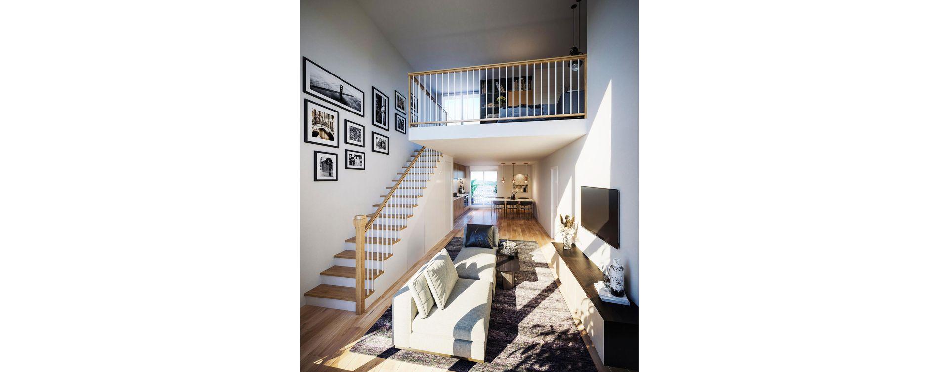 Clichy : programme immobilier neuve « Broadway » en Loi Pinel (4)