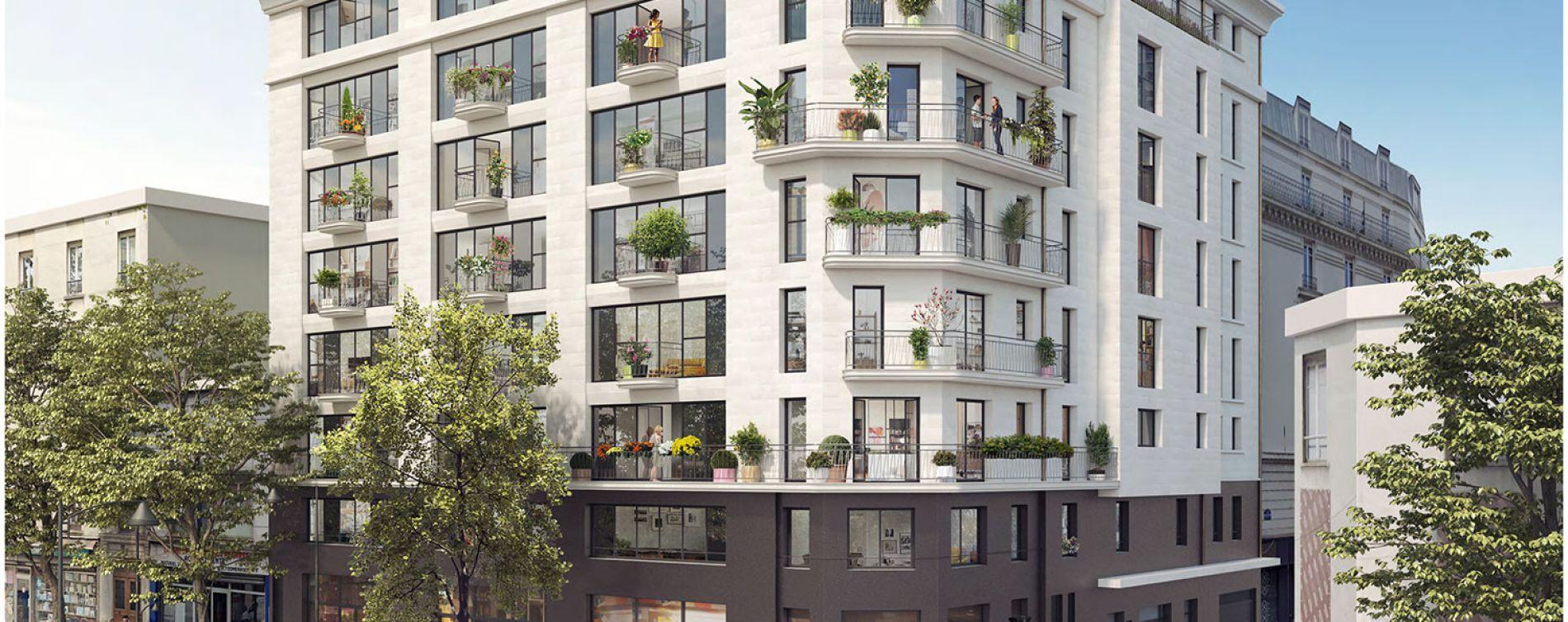 Clichy : programme immobilier neuve « Le 15 » en Loi Pinel (2)