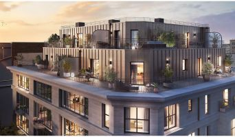 Clichy programme immobilier neuf « Le 15