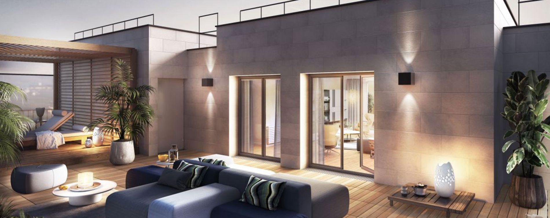 Clichy : programme immobilier neuve « Le 7 » en Loi Pinel