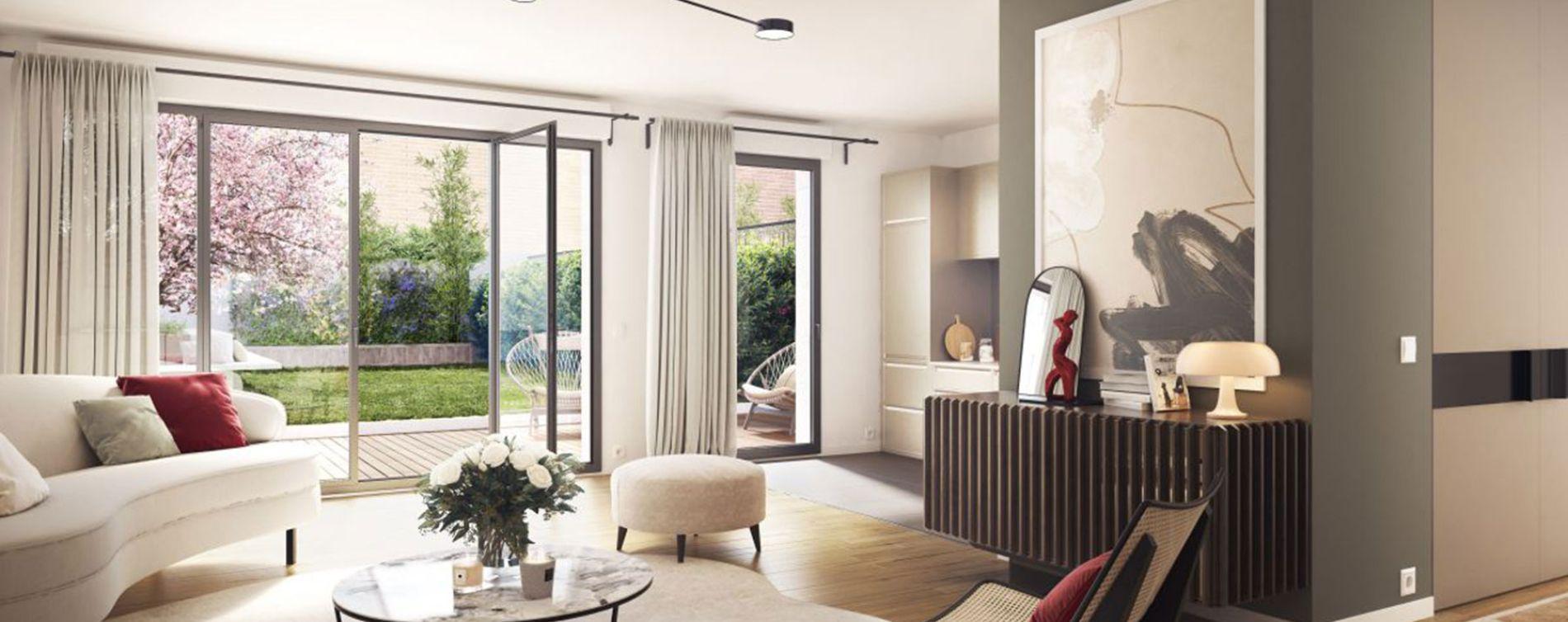 Clichy : programme immobilier neuve « Le 7 » en Loi Pinel (2)