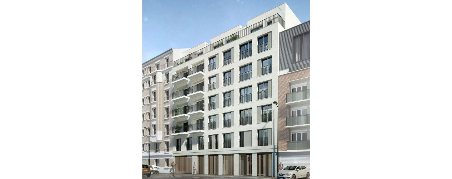 Clichy : programme immobilier neuve « Le 7 » en Loi Pinel (3)