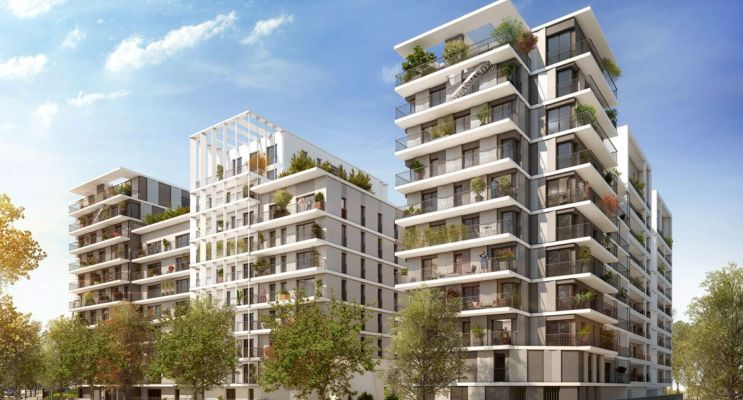 Clichy : programme immobilier neuf « L'Instant » en Loi Pinel