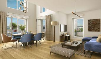 Clichy programme immobilier neuve « Prysm » en Loi Pinel  (2)